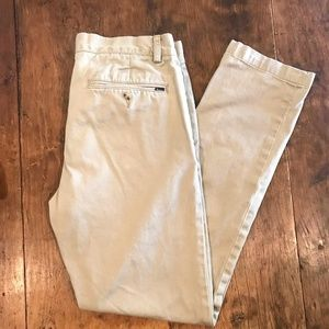 Polo Ralph Lauren Men's Slim-Fit Chino Khaki Pants